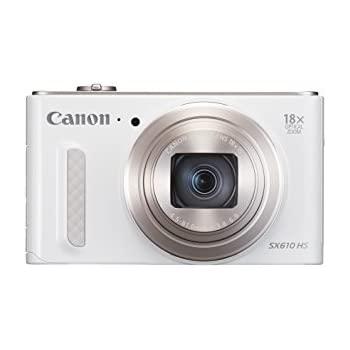 Canon SX610 HS PowerShot Point and Shoot Digital Camera - White