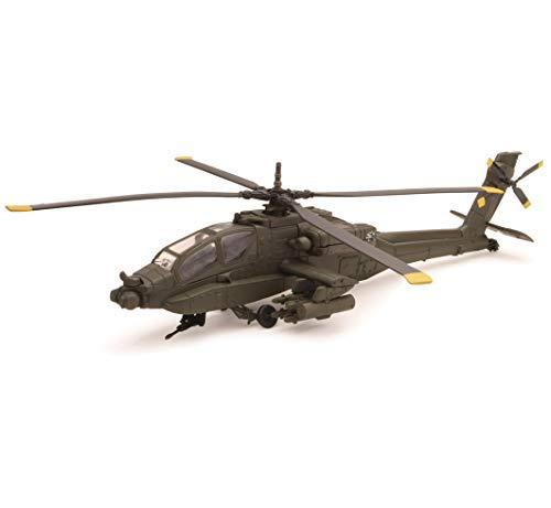 "NewRay 25523 - Modell-Militärhubschrauber \""Apache AH-64\"" 1:55"