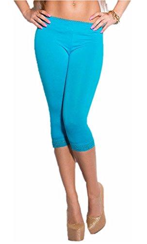 Mela Proibita - Short - Femme Turquoise