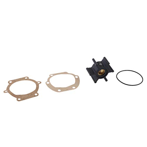 D DOLITY 1 Stück Außenbord-Wasserpumpen-Laufrad Meerwasserpumpenlaufrad für JOHNSON Impeller 09-810B; 810BAußenbordlaufrad -