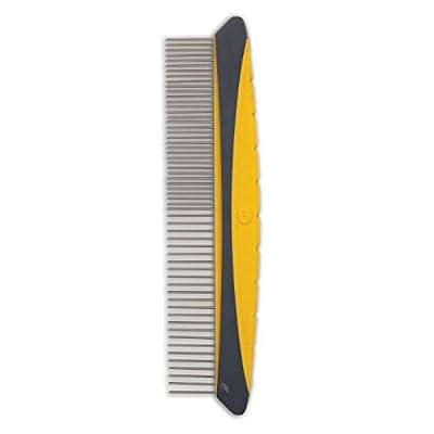 JW Pet Company 8-Inch Gripsoft Rotating Comfort Comb, Fine and Coarse by JW Pet Company