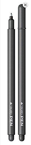 Pennarello Tratto Pen Metal Look 0,5Mm Grigio Fumo 1Pz
