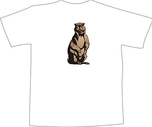 T-Shirt E819 Schönes T-Shirt mit farbigem Brustaufdruck - Logo / Grafik ...