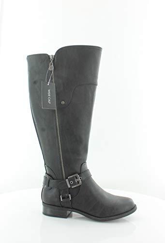Guess G by Frauen Harson Weite Wadenoeffnung Pumps Rund Fashion Stiefel Schwarz Groesse 6 US /37 EU