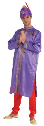 Rubie's Bollywood Star Lila & Rot Kostüm für -