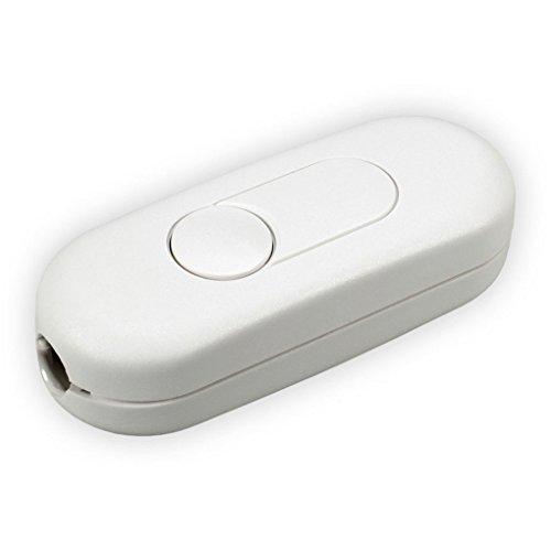 LUMEO MOBIL Schnurdimmer 2960x0800 (T29.08/weiss) für LED + HV-HALOGEN + Glühlampen - T29.08 - 5-100 W/VA (LED 3-35W) - Farbe: weiss - Durch Schnur-dimmer