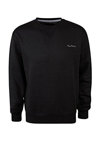pierre-cardin-mens-new-season-classic-fit-crew-neck-sweatshirt-large-black