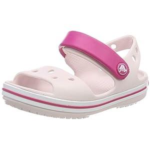 31I0z5qP4iL. SS300 Crocs Crocband, Sandali con Cinturino alla Caviglia Unisex – Bambini