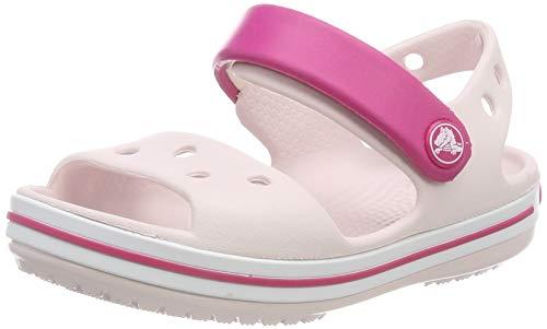 Crocs Unisex-Kinder Crocband Sandalen, Pink (Barely Pink/Candy Pink 6pv), 28/29 EU