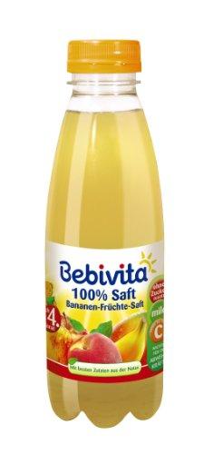 Bebivita Bananen-Früchte-Saft, 6er Pack (6 x 500 g)