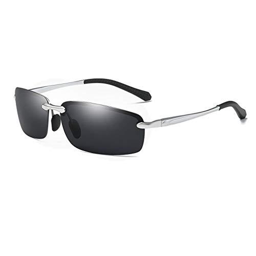 Jinxiaobei Herren Sonnenbrillen Polarisierte Sport Sonnenbrille polarisierte Designer Mode Sport Sonnenbrille for Baseball Radfahren Angeln Golf Superlight Rahmen uv400 Schutz (Color : Gray)