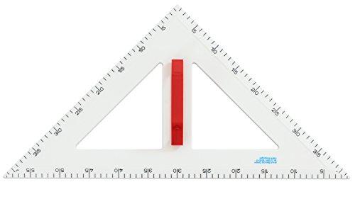 Wissner Winkel, gleichschenklig, 60 cm - Tafelzeichengeräte Zeichengeräte Tafel Schule Lehrer lernen Mathematik-Unterricht Geometrie lehren Schultafel Tafelmaterial