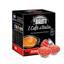 80 Capsule I Caffè D'Italia Bialetti ROMA