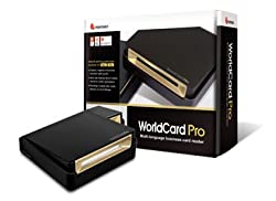 PenPower WorldCard Pro Business card reader / scanner for Windows and Mac