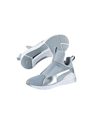 Puma Damen Fierce Core Sneakers Silber