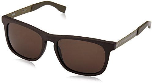 BOSS Orange Herren BO 0245/S 70 QWJ Sonnenbrille, Braun Green/Brown, 54