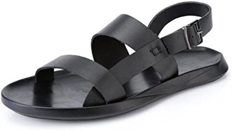 YaXuan Sommer Sandalen Männer Slip Lässige Mode Sandalen Outdoor Breathable Beach Herrenschuhe (Farbe : 1  Größe
