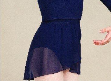 Erwachsene Chiffon-wickelrock (Capezio Ballett Rock Wickelrock CAD800 für Erwachsene 4 Farben)