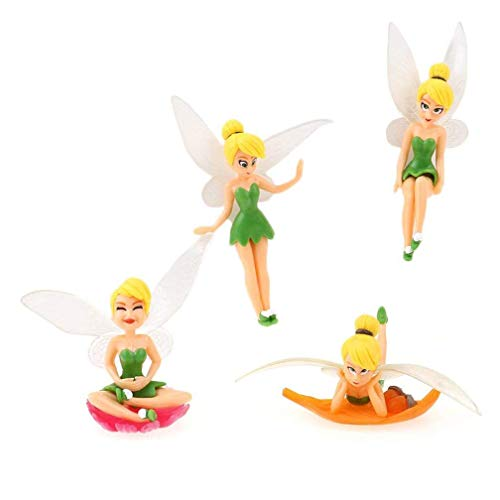 YIXUAN Diferentes flores hadas adornos miniatura figura decorativa de jardín maceta manualidades casa de muñecas decoración