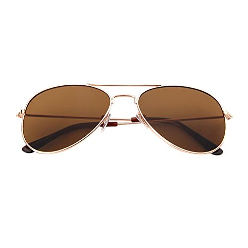 a9162cb5a04dda Dragon868 Kinder Aviator Pilot Trendy Sonnenbrille für Jungen Mädchen UV400  CE zertifiziert (D)