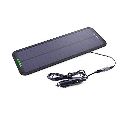 CONRAL 12V Solar Car Battery Charger & Maintainer, tragbares 7,5W Solar Panel Trickle Charging Kit für Automotive, Motorrad, Boot, Marine, RV, Trailer, Powersports, Schneemobil usw. Rv Trailer-batterien