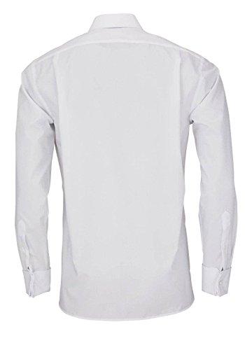 Olymp Herren Hemd Luxor Modern Fit Weiß