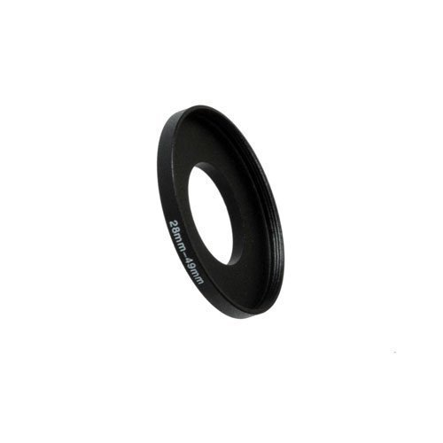 Fotodiox Metal Step Up Ring Filter Adapter, Anodized Black Aluminum 46mm-52mm, 46-52 mm 52mm Step Down Ring-adapter