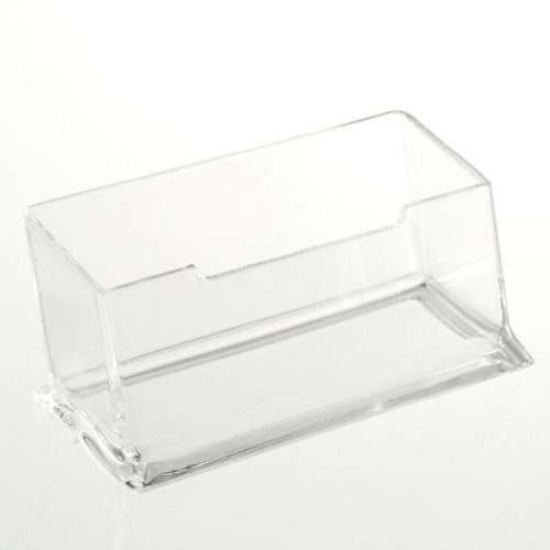 toogoor-new-clear-desktop-business-card-holder-display-stand-acrylic-plastic-desk-shelf