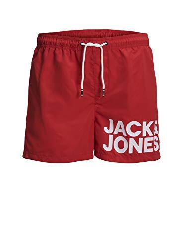 JACK & JONES - Bañador - Hombre Rojo Roja China XS