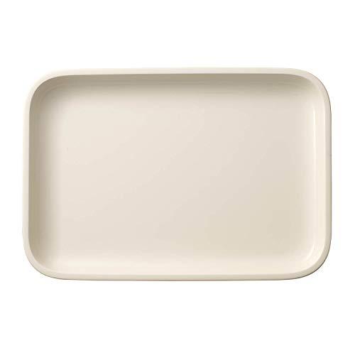 Villeroy & Boch Clever Cooking Plat de service rectangulaire, 32 x 22 cm, Porcelaine Premium, Blanc