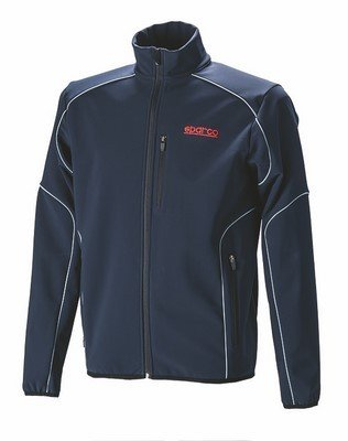 sparco-s011763bm3l-soft-shell-jacket-navy-blue-size-l
