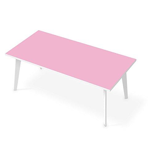 Tisch-Schutz / Klebefolie Tisch 200x100 cm / Design Folie Pink 3 / Möbeldekoration
