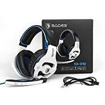 Sades Gaming Kopfhörer. 810 White -