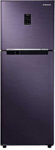 Samsung 253 L 2 Star Frost-Free Double-Door Refrigerator (RT28N3722UT/HL, Pebble Blue, Inverter Compressor)