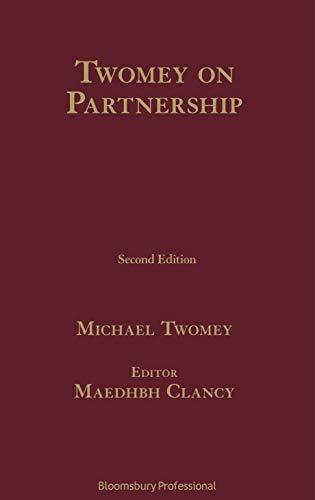 Twomey on Partnership (English Edition)