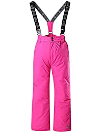 Shaoyao Pantalón De Esquí para Niños - Cremallera En El Tobillo Y Tirantes Desmontables Pantalones De Lluvia