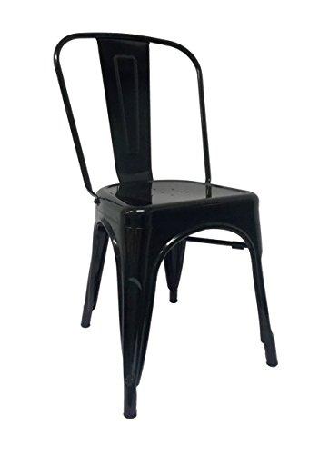 RegalosMiguel Chaise Industrielle Mtallique Mtal Tolix Pauchard Elige Tu