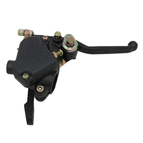 B Blesiya 1 Stück Kupplungshebel Daumen Gashebel Mit Dual-Bremshebel für 2 Hub 47cc 49cc Mini ATV Kind Quads