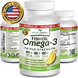Best Fish Oil Pills - Product Details BEST TRIPLE STRENGTH Omega 3 Fish Review