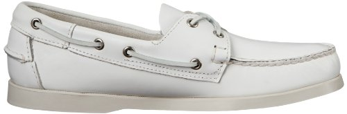 Sebago Docksides, Chaussures Bateau Homme Blanc (White)