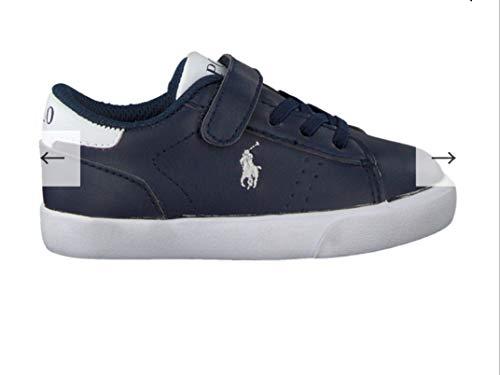 Ralph Lauren , Jungen Sneaker Blau blau, Blau - blau - Größe: 28 EU - Ralph Jungen Lauren Schuhe Für