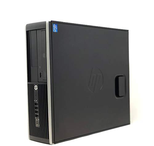 HP Elite 8300 SFF Ordenador de Sobremesa (i5-3470 3.20GHz 8GB de RAM, 500GB de HDD,Lector DVD, WiFi Windows 10 Professional) (Reacondicionado)