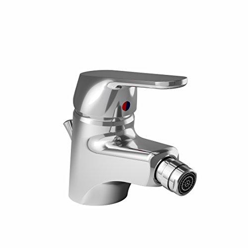 Ideal standard b0254aa ceraplan ii miscelatore monocomando per bidet, argento