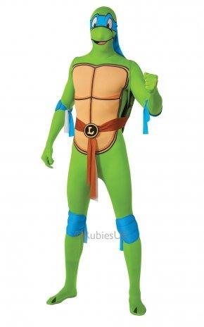 Teenage Mutant Ninja Turtle Leonardo 2nd Skin - Adult Costume Men : MEDIUM by RUBBIES FRANCE (Men's Leonardo Ninja Turtle Kostüm)