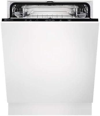 Electrolux EEA27200L lavavajilla Totalmente integrado 13 cubiertos A++ - Lavavajillas (Totalmente integrado, Tamaño completo (60 cm), Blanco, Negro, Sensor, 1,5 m)