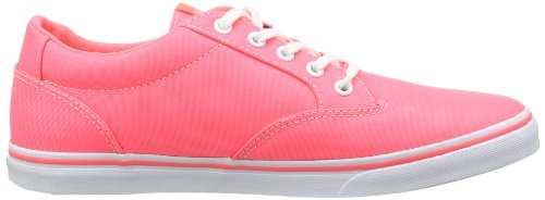 Vans W Winston Low Neon Coral/whit, basket femme Orange  - Orange (Neon Coral/Whit)