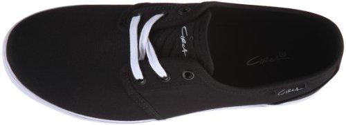 C1RCA CRIP CCRIP Unisex-Erwachsene Sneaker Schwarz (Black/White)