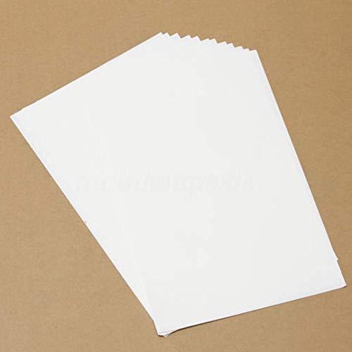 Papier-T-Shirt Printworks Helle Farbe Hitze-Licht Stoff A4 Transferbügeleisen für Tintenstrahldrucker -