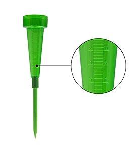 Greengeers 90404 Pluviom/ètre /à Planter Vert