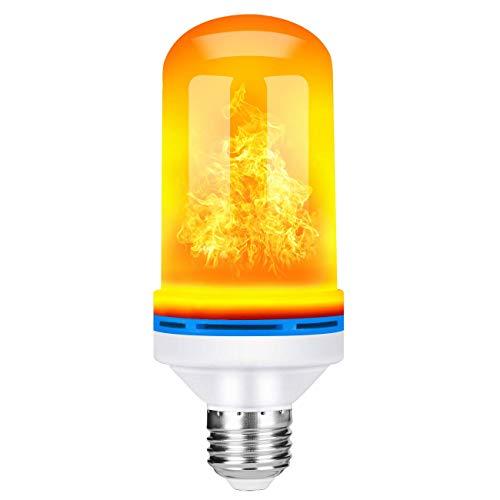 DOOK Flamme Glühbirne, E26 5W Base Flackernde Flamme Glühbirne dekorative Atmosphäre Lampen für Weihnachten, Zuhause, Hotel, Bar, Festdekorationen,1pack -